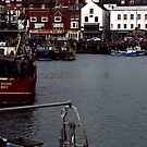 The Harbour Scarborough by Trevor Kersley