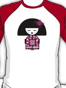Magenta Chinese T-Shirt