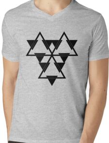 Battlestar Mens V-Neck T-Shirt