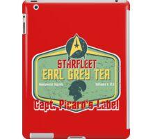 CAPT. PICARD'S EARL GREY TEA  iPad Case/Skin