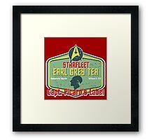 CAPT. PICARD'S EARL GREY TEA  Framed Print