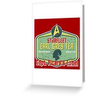 CAPT. PICARD'S EARL GREY TEA  Greeting Card