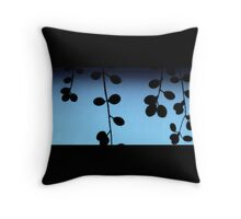 Winter Blues .. Throw Pillow