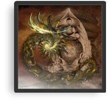 Dragons Lair Canvas Print