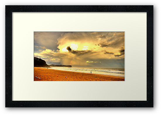 Dreamtime - Warriewood Beach - The HDR Experience by Philip Johnson