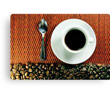 Cafezinho Canvas Print