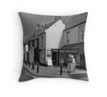 Holt in Norfolk Throw Pillow