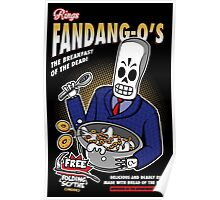 Rings Fandang-O's Cereals Poster