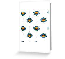Watercolor daisy Greeting Card