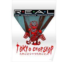 Tokyo Chopshop - Telerobox Poster