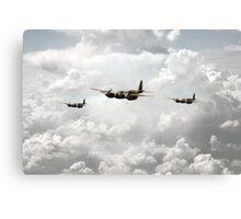 Mosquito Squadron  Canvas Print