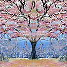 Cherry Blossom Tree of Life  by cathyjacobs