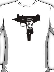 Ironic Uzi Tee T-Shirt