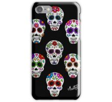 Martha´s mexican skulls (calacas) I iPhone Case/Skin