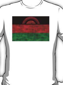 Distressed Malawi Flag T-Shirt