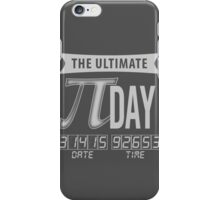 The Ultimate Pi Day iPhone Case/Skin