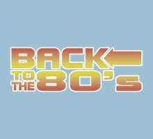 Back to the eighties Kids Clothes