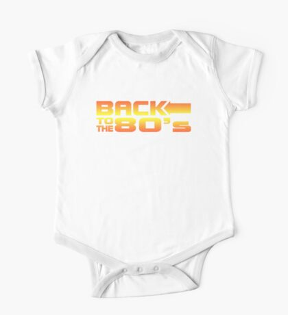 Back to the eighties One Piece - Short Sleeve