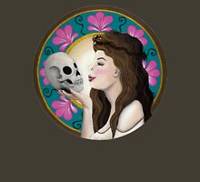 Ophelia - Art Nouveau Womens Fitted T-Shirt