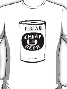 Fidlar Cheap Beer T-Shirt