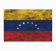 Distressed Venezuela Flag Kids Clothes