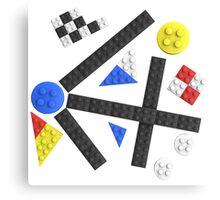Kandinsky Toy Bricks Canvas Print