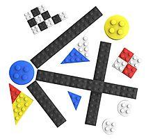 Kandinsky Toy Bricks Photographic Print