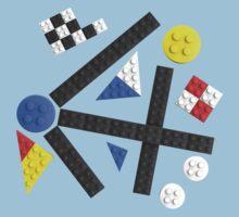 Kandinsky Toy Bricks by Christopher Watson