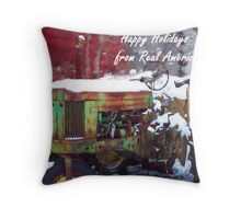 RURAL GREETINGS  Throw Pillow