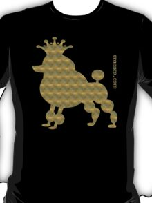 King poodle - Königspudel - dog, crown, cute, funny T-Shirt