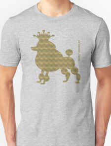 King poodle - Königspudel - dog, crown, cute, funny T-Shirt
