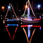 Harbour lights by Paul McGuire