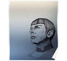 Live Long and Prosper - Blue Poster
