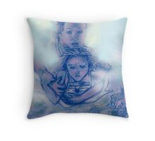 Usual fears unusual reality Throw Pillow