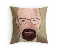 walter white 1 Throw Pillow