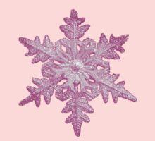 pink snowflake by faithie