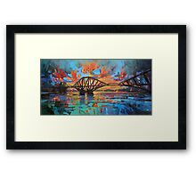 Forth Bridge Dawn Framed Print