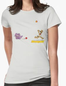 Housepets: Ball and Yarn Womens Fitted T-Shirt