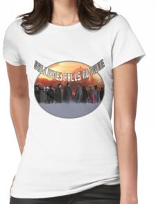 Gallifrey Throw Womens Fitted T-Shirt