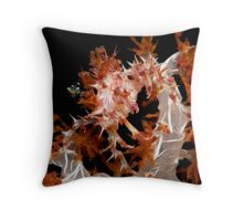 Soft Coral Crab Throw Pillow