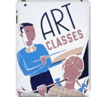 Art Classes for Children iPad Case/Skin