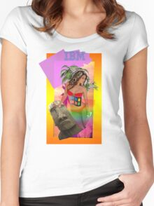 IBM Beauty Women's Fitted Scoop T-Shirt