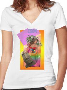 IBM Beauty Women's Fitted V-Neck T-Shirt