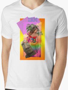 IBM Beauty Mens V-Neck T-Shirt