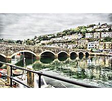Bridge at Looe Photographic Print