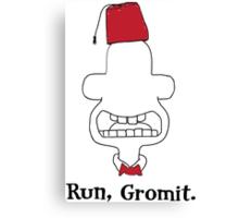 Run, Gromit Canvas Print