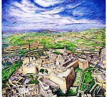 Citadel Gozo by Joseph Barbara