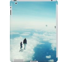 Heaven's already here above the clouds iPad Case/Skin
