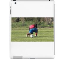 football player iPad Case/Skin