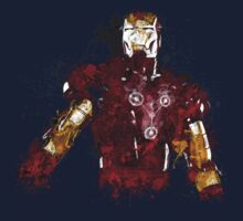 Iron Man art Kids Clothes